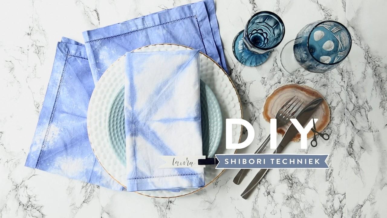 DIY Shibori techniek | Westwing stijltips