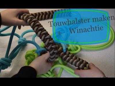 DIY Touwhalster &WINACTIE-- LotteNuala
