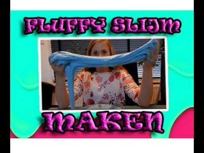 Zelf Glitter Fluffy Slijm Maken- DIY  - DINJAvNES