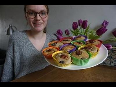 58. DIY gezonde blauwe bessen muffins