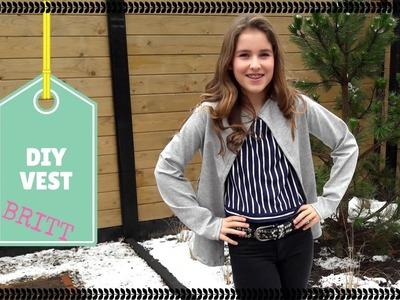 DIY vest | KNIPgirls Britt
