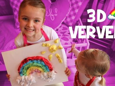 MEGA AANRADER: 3D SCHILDEREN!!! ♥DeZoeteZusjes♥ [DIY]
