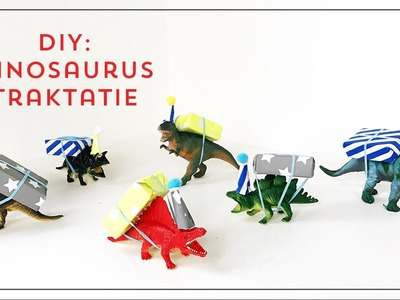 DIY: Dinosaurus traktatie