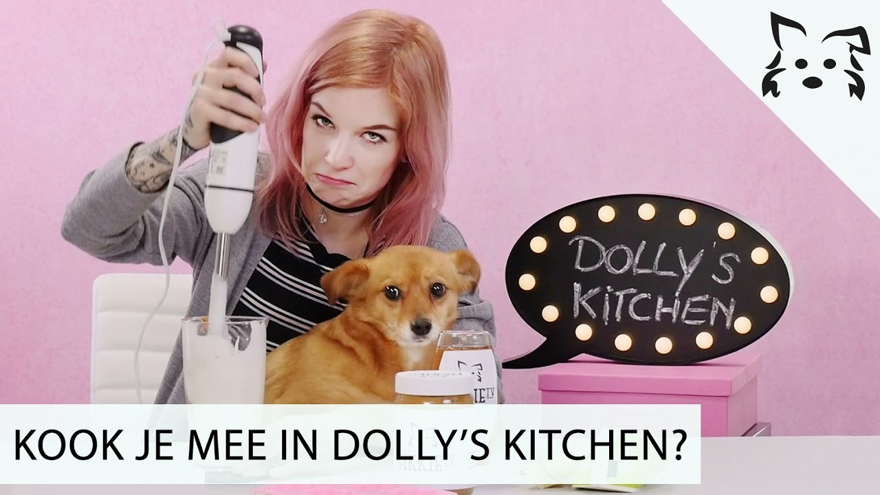 DIY HONDENSNACKS & Dolly is BANG voor de staafmixer?! - # Fikkie TV
