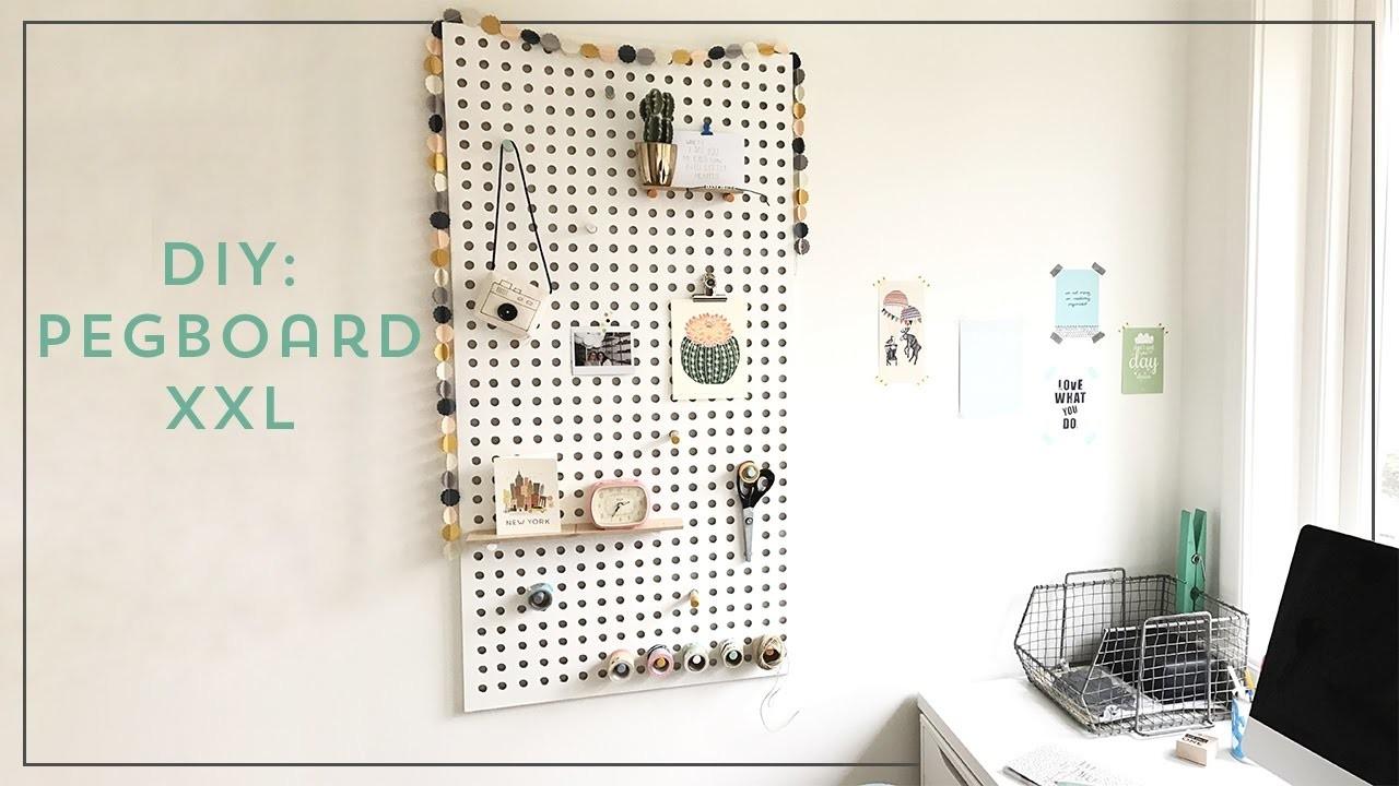 DIY: Pegboard XXL