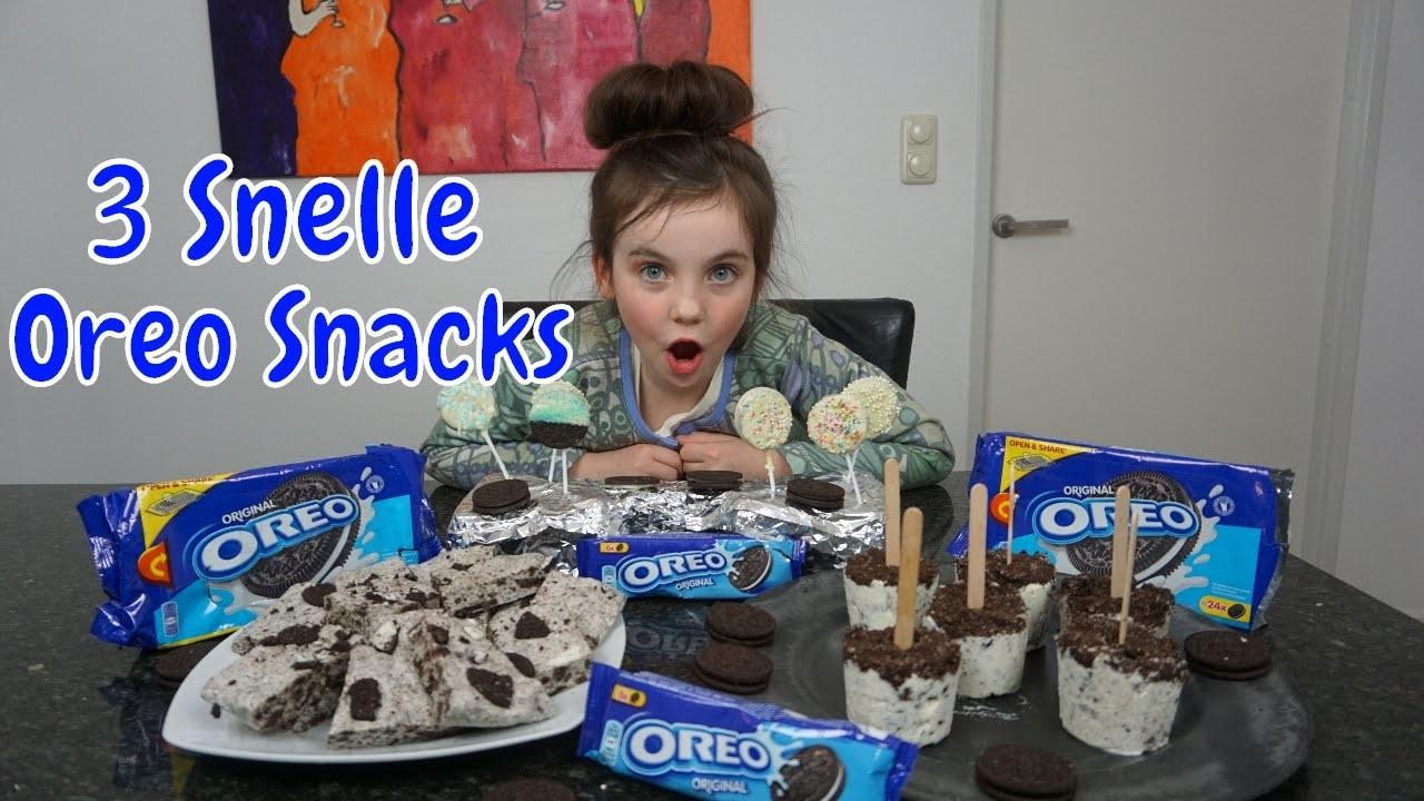 DIY - Zelf 3 Snelle Oreo Snacks Maken - Bibi (Nederlands)