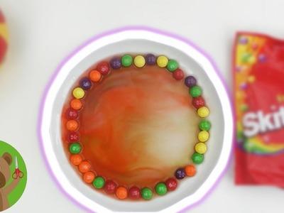 DIY Skittle regenboog zelf maken | Experiment om na te doen voor kinderen | DIY Kids Club