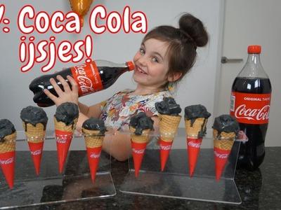 DIY - Zelf Coca Cola IJsjes maken - Bibi (Nederlands)