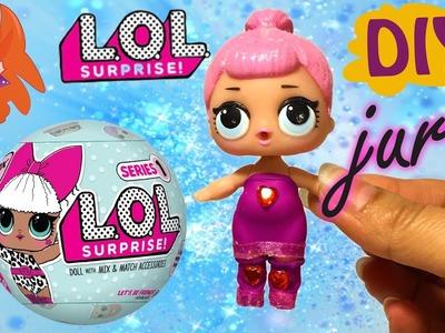 L.O.L. Surprise pop DIY - jurkje ontwerpen! (waterballon)