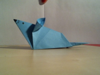 How to fold an origami mouse. Hoe vouw je een origami muis