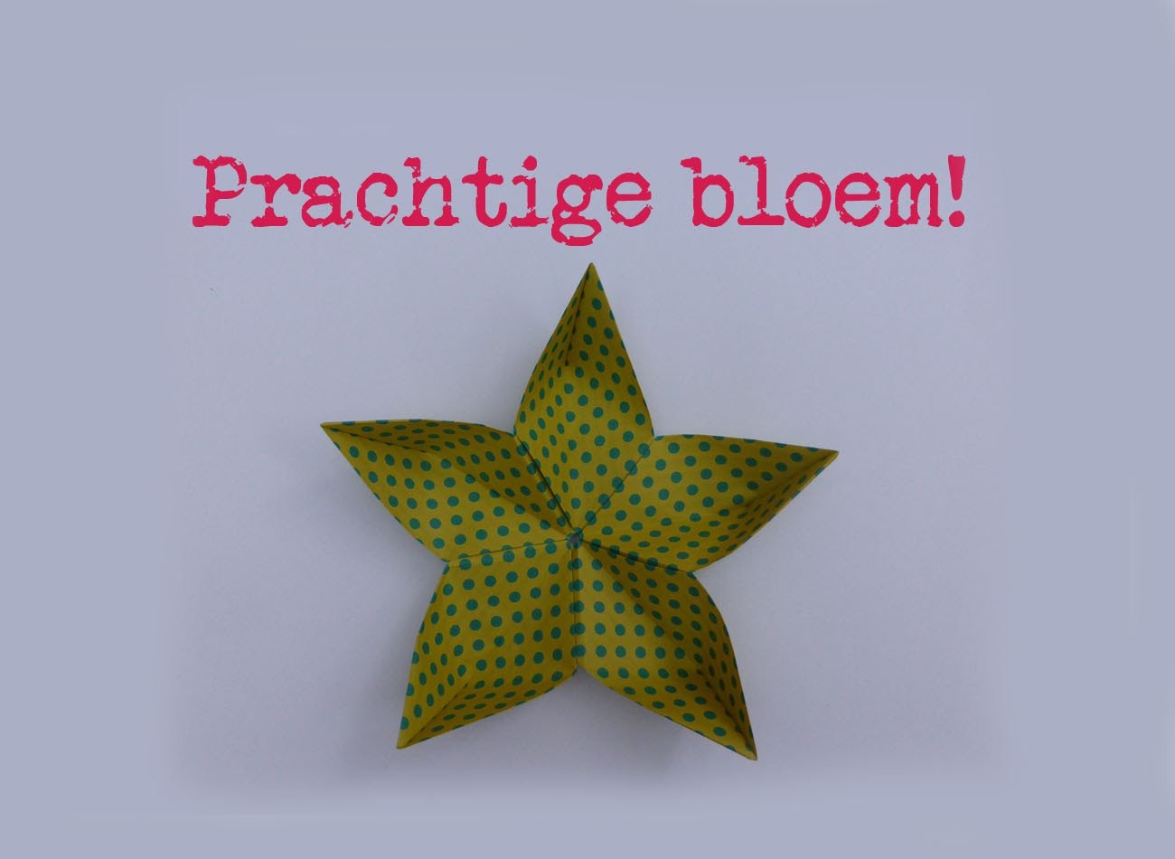 Origami lucky star vouwen tutorial how for Lucky star folding