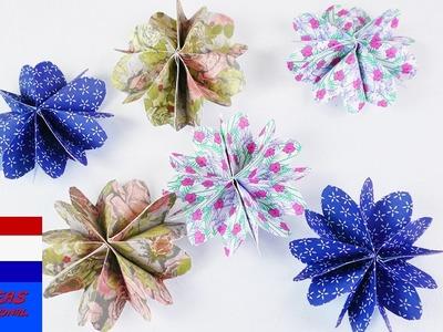 Vouw deze schattige bloementjes!