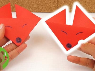 Origami vos Nederlands - Handleiding om zelf te maken - Vos vouwen DIY